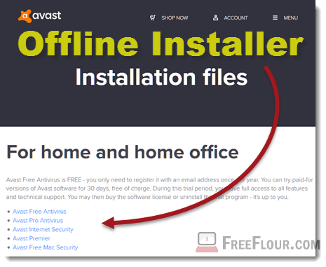 Avast Free Antivirus Offline Installer download