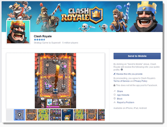 Clash Royale Game for PC Download free Windows 10/8/7 Mac
