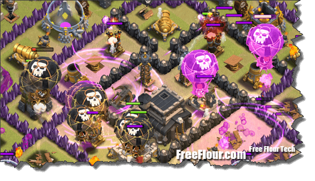 CoC Attack Strategy QuatroLavaloonion