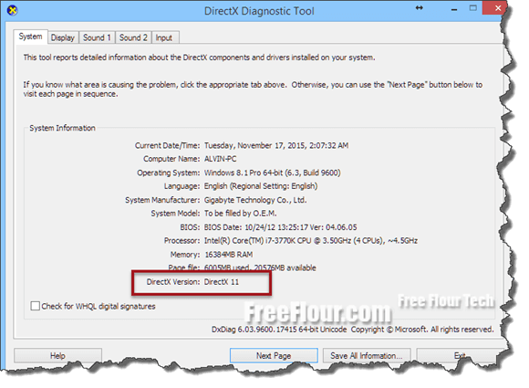 DirectX 11 Download Windows 7 64 bit Free Offline installer