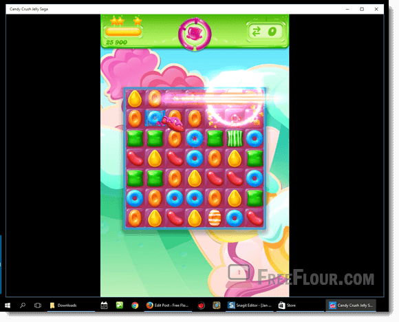Download Candy Crush Jelly Saga PC Windows 10
