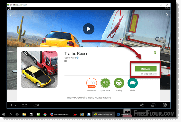 Download Traffic Racer For PC Without Bluestacks