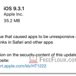 Download iOS 9.3.1 IPSW links iPhone 6s 6 Plus SE iPad Pro