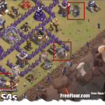 Clash of Clans War Attack Strategy TH9 GoWiWi Lavaloonion