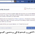 How to Delete Facebook Account Permanently on Phone App Mobile