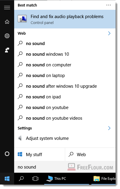 How to Get Help in Windows 10 No Sound