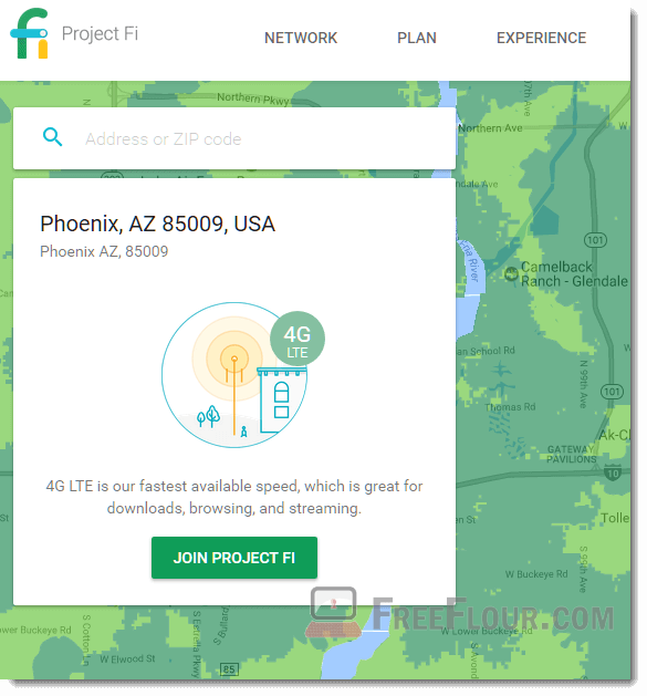 How to Sign Up for Google Project Fi coverage