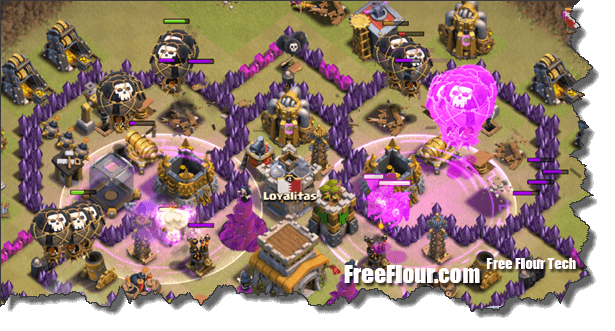 Lavaloonion quatrolavaloonion clan war attack strategy coc