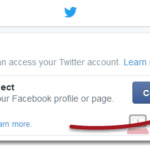 Twitter Login With Facebook Connect or Instagram Account Problem