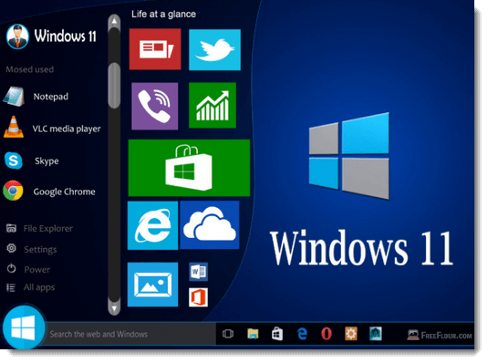 windows 11 concepts