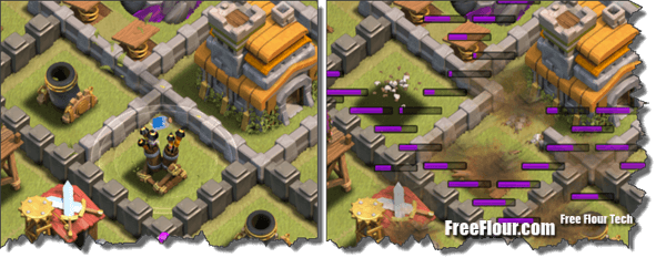 coc attack strategy lightning dragon air defense