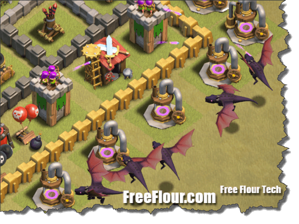 coc clan war attack strategy dragon lightning rage hog
