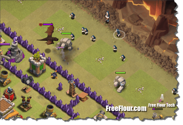 coc clan war attack strategy gowipe