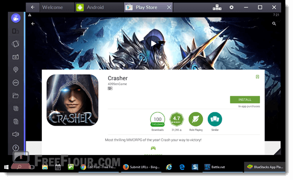 crasher mmorpg mobile for pc download