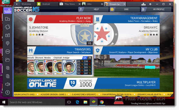 dream league soccer for pc download free