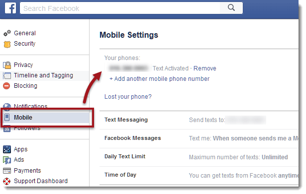 fb login mobile phone number sign in facebook