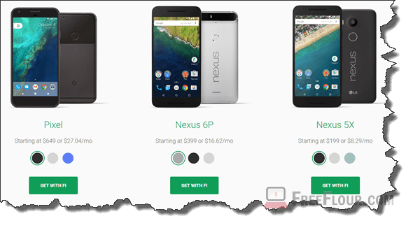 google project fi pixel nexus android