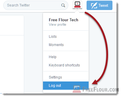how to logout of twitter from all devices