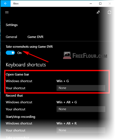 how to take a screenshot on windows 10 game bar