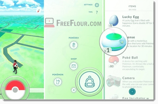 how to use get incense in pokemon go