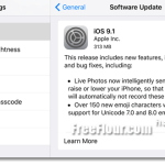 iOS 9.1 Download Link IPSW for iPhone, iPad, iPod Touch