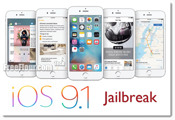 jailbreak ios 9.1 mac pc iphone 6 6s plus 5s 5c 5 4s iPad air pro mini