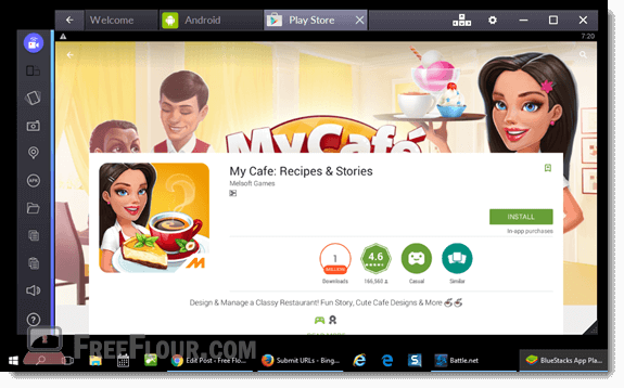 my cafe recipes and stories for pc download