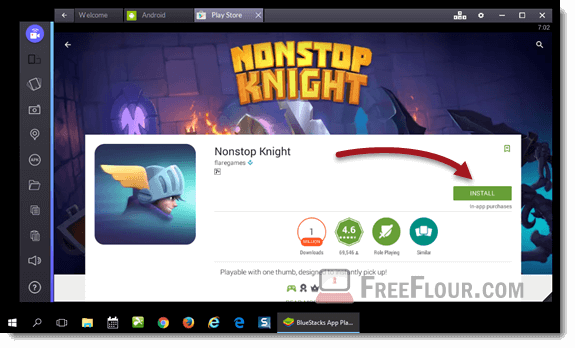 nonstop knight for pc windows 10 8 7 mac