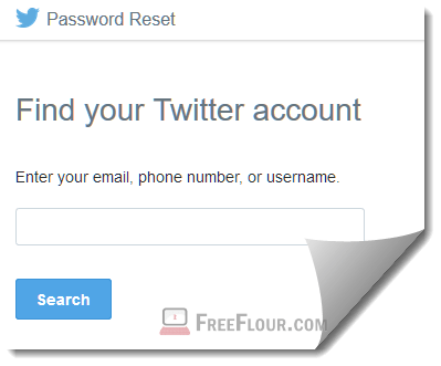 twitter login forgot password and username
