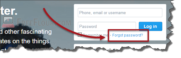 twitter login help forgot password and email