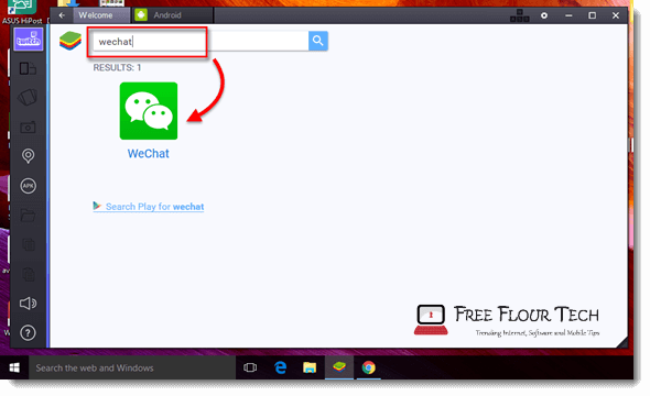 wechat for pc download free search bluestacks
