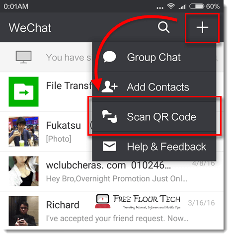 wechat for pc download scan qr code