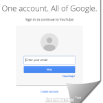 YouTube Sign In | YouTube Login Page Google Account