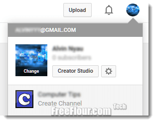 youtube sign up create youtube account without google plus gmail